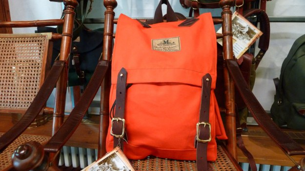 Seil Marschall Backpack - Canoepack Mini orange full view