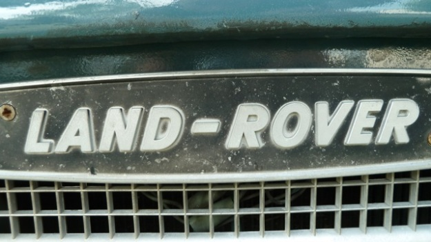 Land-Rover Defender grill old one