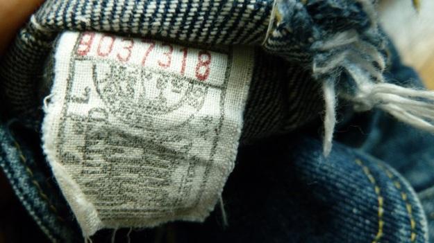 Lee Storm Rider denim jacket - label inside pocket
