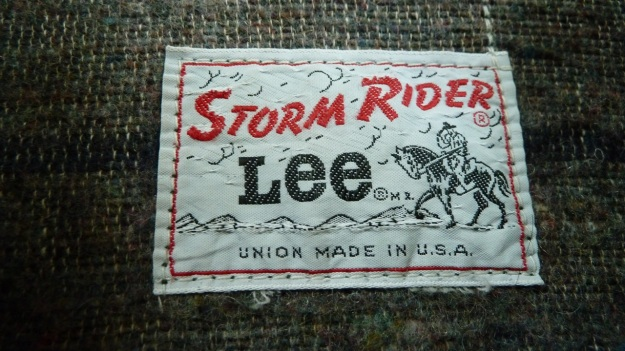 Lee Storm Rider denim jacket - label neck