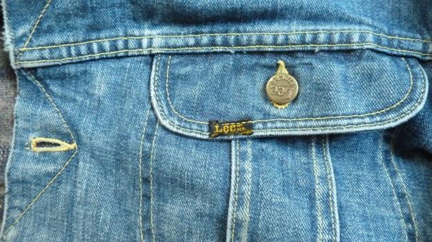 Lee Storm Rider denim jacket - pocket view right