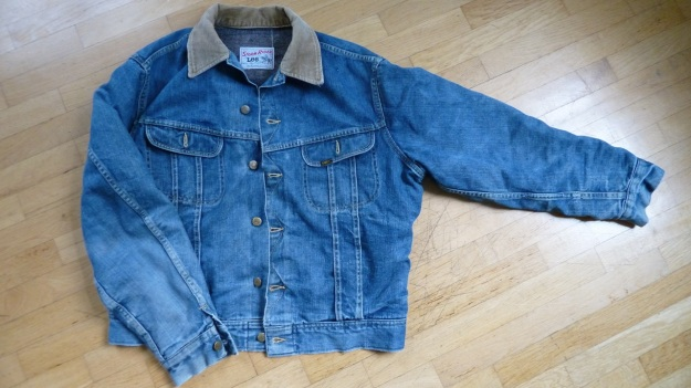 Lee Storm Rider denim jacket - total front view
