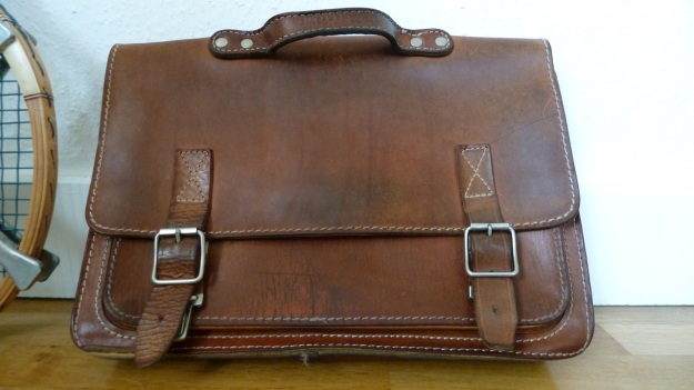 Ruitertassen briefcase leather full view