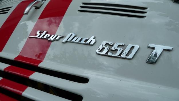 Steyr Puch 650 T logo
