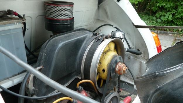 Steyr Puch 650 T engine