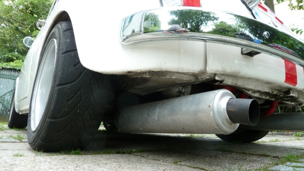 Steyr Puch 650 T reifen und auspuff