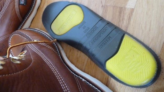 Thorogood Moc Toe boots insole
