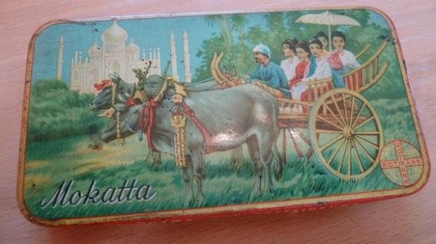 old tin cigar box mokatta rotmann