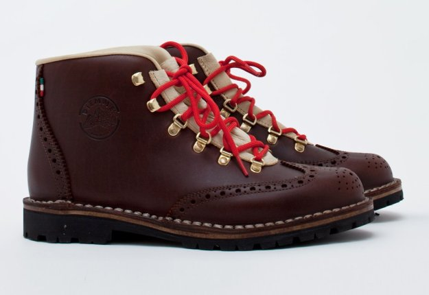 diemme tiroli wing grain leather boot