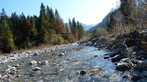 Sibratzsgfäll Schönenbach river subersach looks like canada