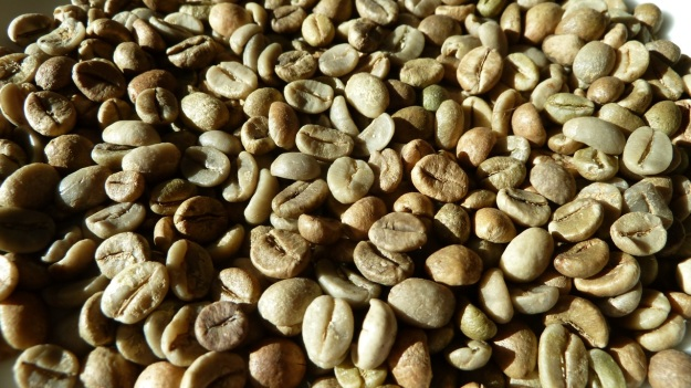 home coffee roasting with the whirley pop green
