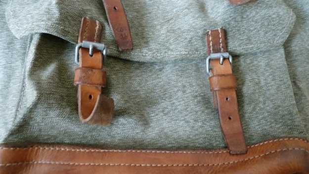 swiss military backpack salt and pepper 1973 front bag straps