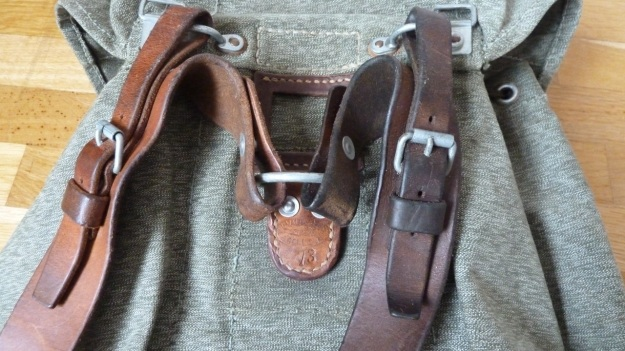 swiss military backpack salt and pepper 1973 straps