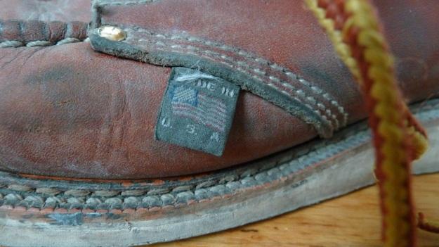 thorogood moc toe boots 3 month rapid vintaged - the flag