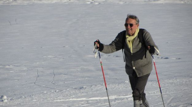 cross country skiing allgaeu traditional gentleman outfit