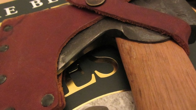 Gränsfors Bruks Wildlife Hatchet in grain leather sheat