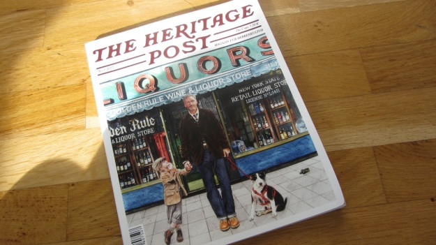 the heritage post issue 1 from 2012 cover