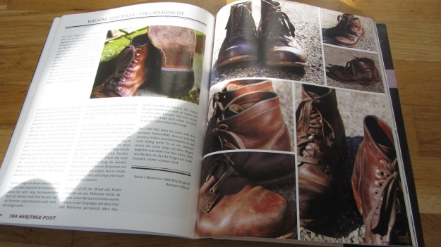 the heritage post issue 1:2012 1000 mile boots