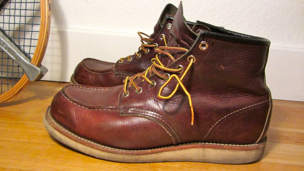 Red Wing Boots Used - Boot Hto