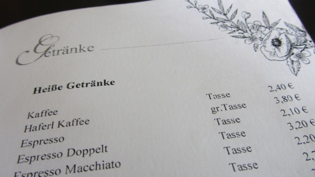 cafe jasmin münchen munich karte speisekarte menue card