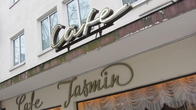 cafe jasmin münchen munich sign augustenstraße steinheilstraße