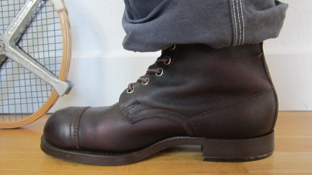 swedish army boots brown from 1943