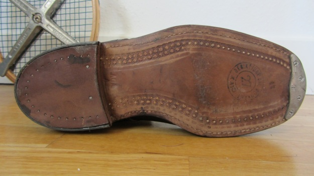 swedish army boots brown from 1943 soles