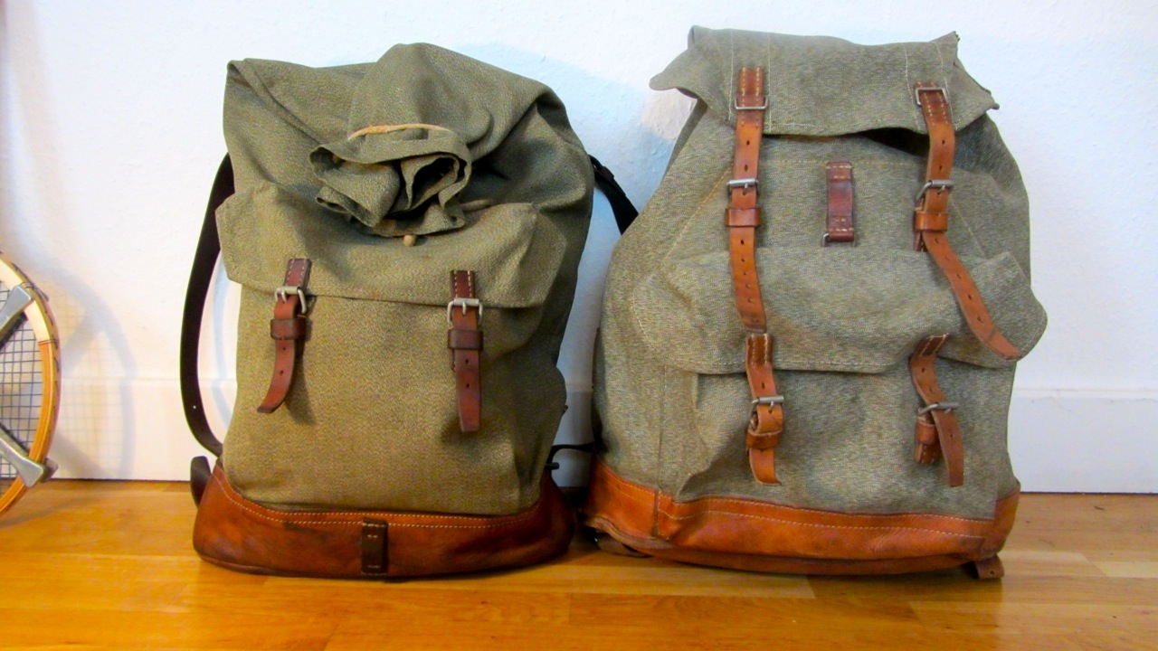 swiss army backpack salt and pepper small vs. big | be-cause ...