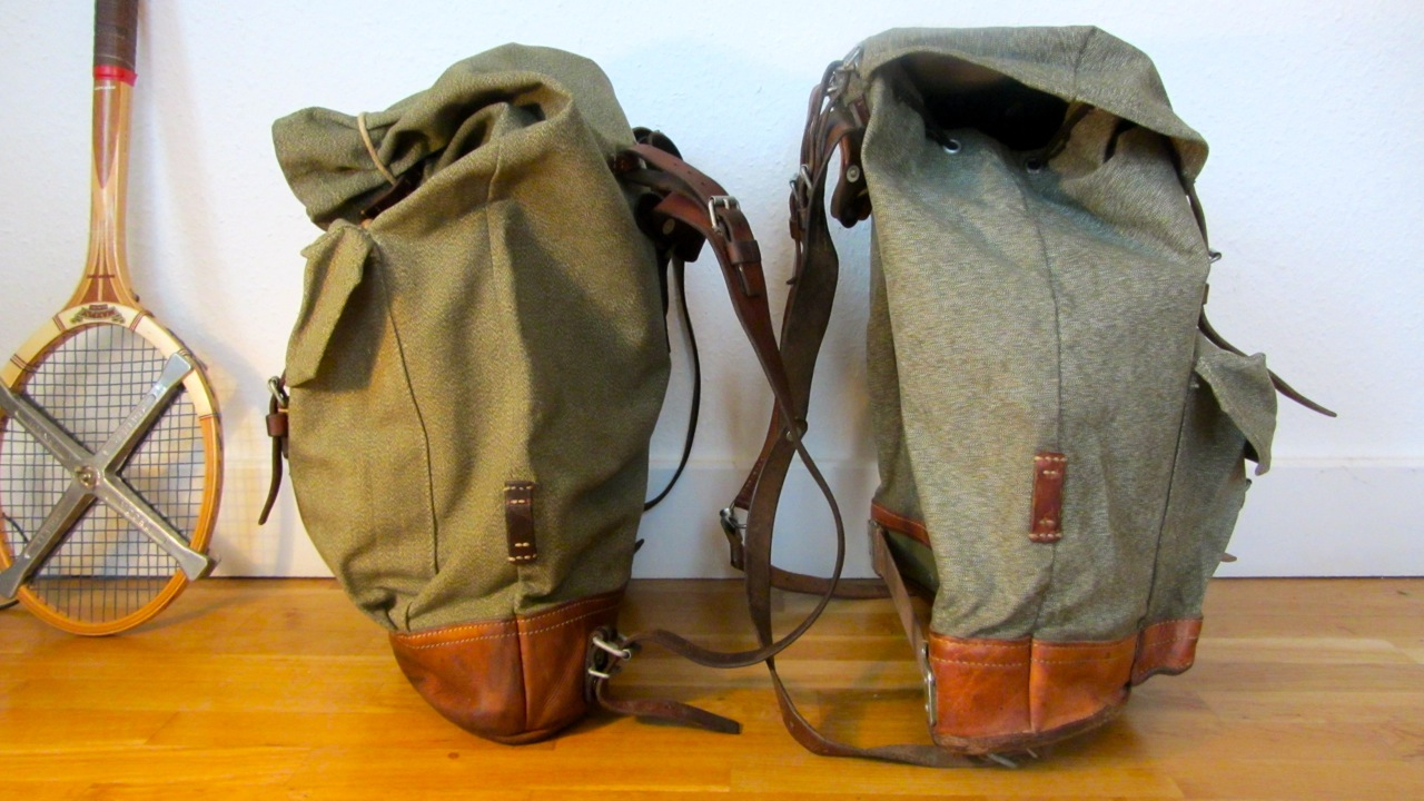 Swiss Army Backpack Salt And Pepper Small Vs Big Be
