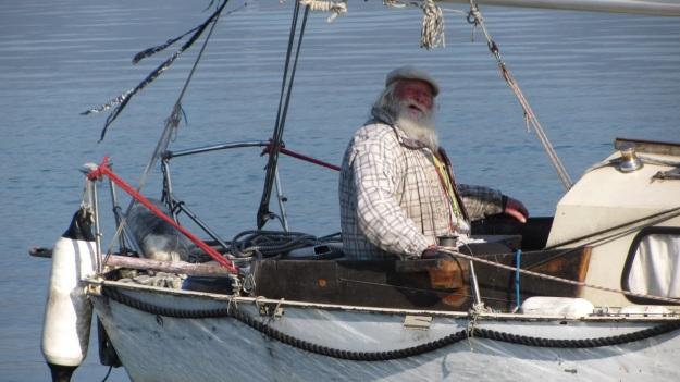 the old sailor - der ewige segler vom bodensee - lake of constace