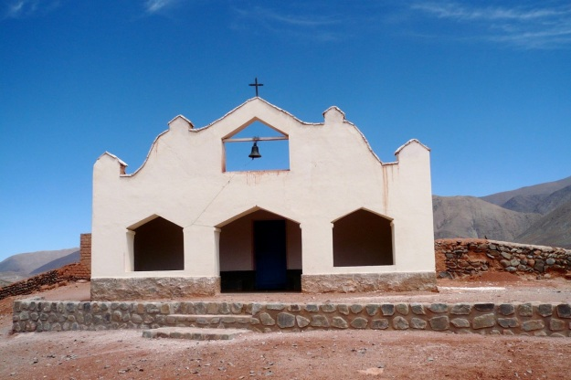 beautiful argentina - church on routa 40