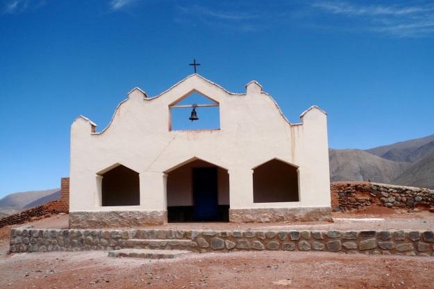 beautiful argentina - church on routa 40
