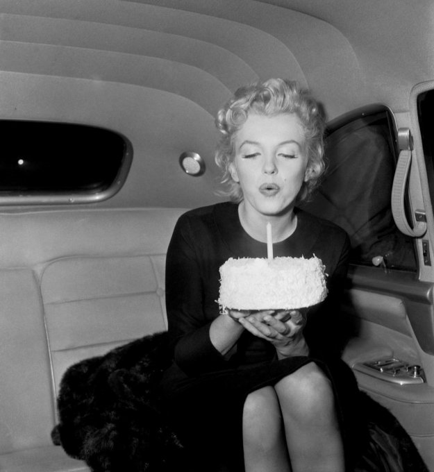 marilyn monroe be-cause birthday