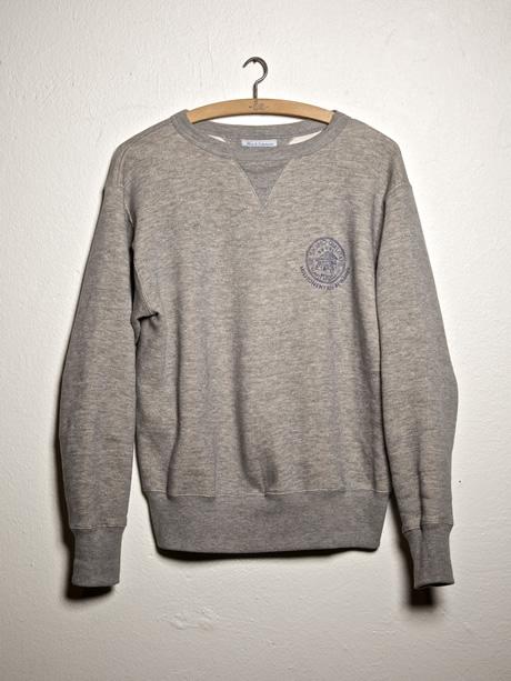 merz b. schwanen sweater 343 Eskimo fleece printed
