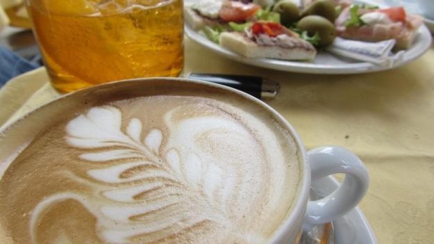 salone 2012 milano - cafe, crodino and tramezzini