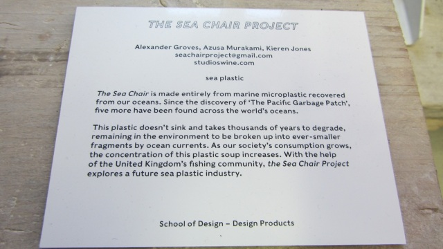 salone 2012 milano sea chair project