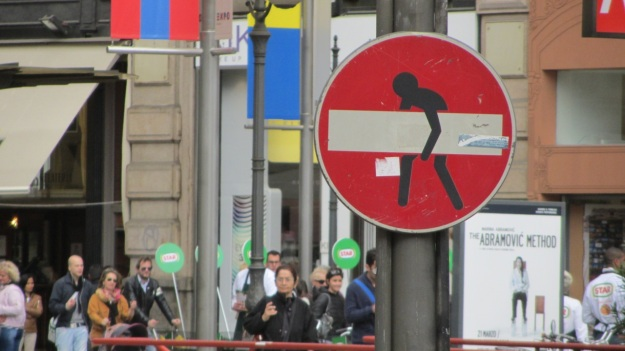salone 2012 milano - traffic sign