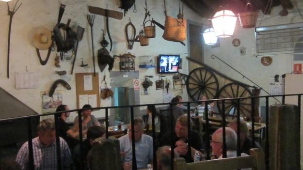 es verger restaurant alaró mallorca the main room