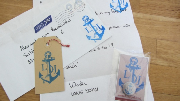 Long John - Wouter Munnichs Promo – full package with letter and envelope