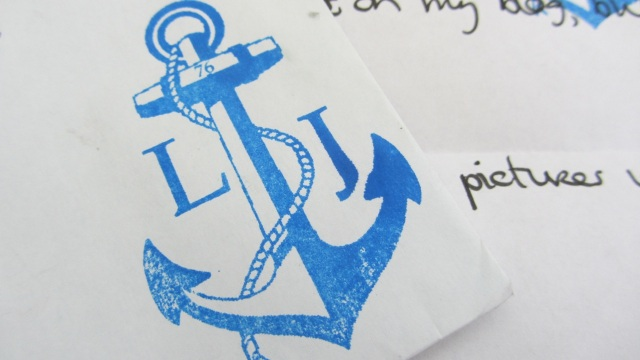 Long John - Wouter Munnichs Promo – anchor stamp