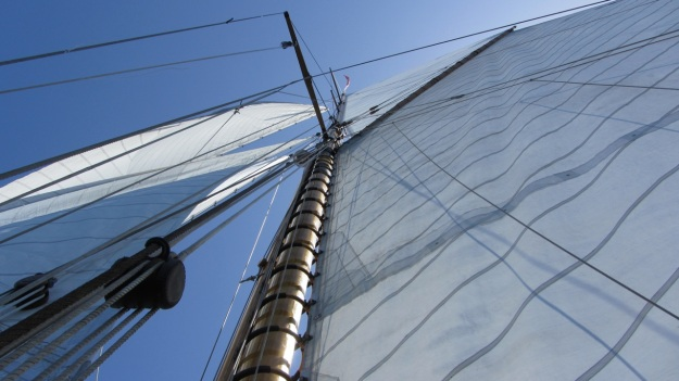 Moonbeam IV Yacht sails