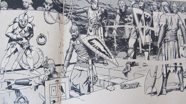 Prinz Eisenherz - Kämpft gegen die Hunnen by Harold Foster vintage comic book