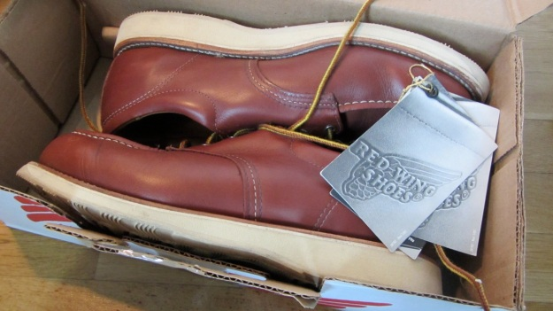 Red Wing Shoes Oxford 3112 – unpacked