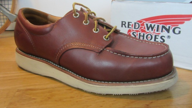 Red Wing Shoes Oxford 3112 – side view,  Oro Russet Portage Leather