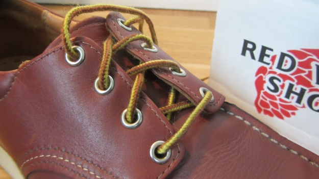 Red Wing Shoes Oxford 3112 – laces detail