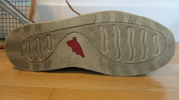 Red Wing Shoes Oxford 3112 – sole with red wing shoes logo