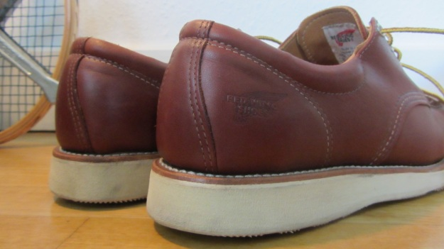 Red Wing Shoes Oxford 3112 – heel and sole