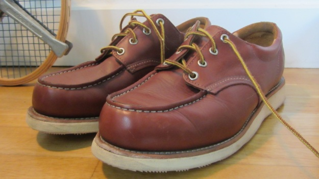 Red Wing Shoes Oxford 3112 – full view of the shoes