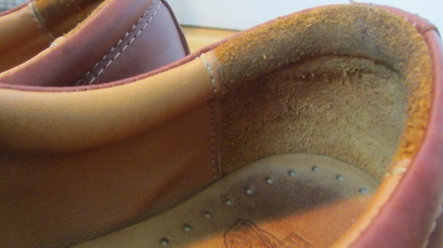 Red Wing Shoes Oxford 3112 – heel inside