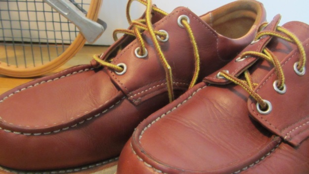 Red Wing Shoes Oxford 3112 – top of the shoes laces